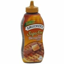 Smucker's Sugar Free Breakfast Syrup 429ml (14.5 fl.oz) (Pack of 2) - American