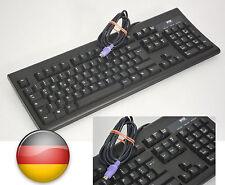 SCHWARZE PS/2 PS2  DEUTSCHE TASTATUR GERMAN BLACK KEYBOARD WYSE KB-3926 KB-WYSE