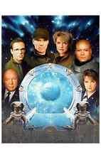 Stargate Sg-1 Cast Portrait Lithograph #1 - Signed Richard Dean Anderson