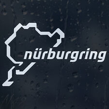 Nurburgring Car Window Windscreen Body Panel Laptop Phone Decal Vinyl Sticker