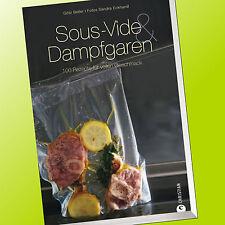 SOUS-VIDE & DAMPFGAREN | 100 REZEPTE FÜR VOLLEN GESCHMACK | Beller & Eckh (Buch)