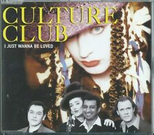 CULTURE CLUB - I Just wanna be loved (UK CD Single)