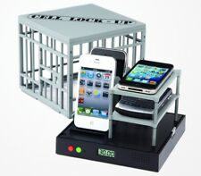 CELL PHONE LOCK UP JAIL PS6312MU STOP DISTURBANCE FUN FAMILY TIME GAG GIFT AUDIO