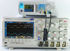 40MHz Dual Chanel Arbitrary Wave DDS Signal Generator Pulse Frequency Counter