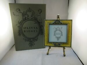 Olivia Riegel 4 x 4 Picture Frame With Easel New In Box