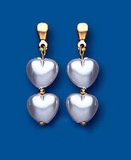 Orecchini di lusso perle Farfallina in oro giallo