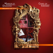 Wood Carving 3D-Frame Mirror-Game of Thrones-picture painting icon art bible