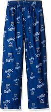 Mlb Boys 4-7 Royals Sleepwear All Over Print Pant, M(5-6), Deep Royal
