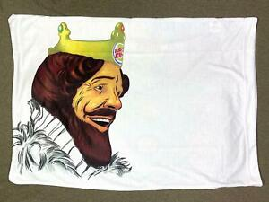 Rare Burger King Pillow Case The BK Breakfast 2010 Special Ltd Promo item NEW