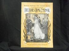 1900 APRIL LADIES' HOME JOURNAL MAGAZINE - GREAT ILLUSTRATIONS & ADS - ST 1601