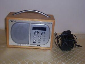 PURE TEMPUS-1 DAB Digital Radio 99p no reserve