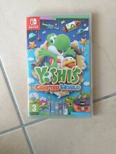 YOSHI'S CRAFTED WORLD NINTENDO SWITCH USATO PERFETTO ITALIANO