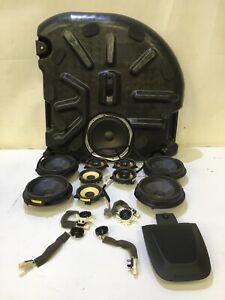 GENUINE JAGUAR XF 3.0 D SOUND SYSTEM SPEAKERS KIT/SET AW93-18808 CX23-19A067-AC
