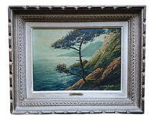 NORMAND, Louis. Original Oil Painting (Cote D'Azur, France)