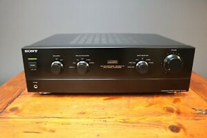 Sony TA-F246E Amplifier Hi-Fi Audiophile With Phono Input & Bi Wire Japan Boxed