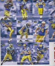 2004 MET-RX UCLA BRUINS TEAM ISSUE TRADING CARD SET CHRIS KLUWE VIKINGS SGA