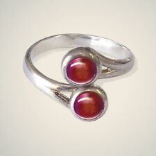July (Ruby) Birthstone Ring By Art Pewter - MADE IN SCOTLAND