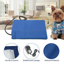 Pet Electric Heating Pad Heated Mat Warmer Blanket Bed For Dog Cat Puppy Bunny