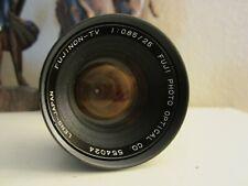 FUJINON-TV Lens 1:0.85/25mm FUJI PHOTO OPTICAL CO.