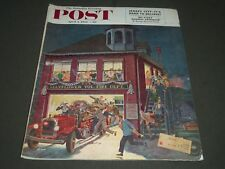 1954 APRIL 3 THE SATURDAY EVENING POST MAGAZINE - ILLUSTRATED COVER - SP 2001