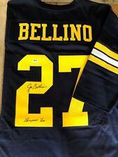 """Joe Bellino Autographed Jersey. Navy Midshipman PSA Certified.""""Heisman '60"""""""
