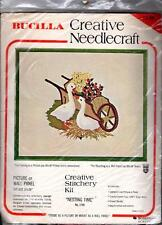Bucilla Crewel Sitchery Kit  # 1749 Nesting Time NOS Geese