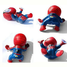 Cute Window Red Spiderman Suction Spider Man Toy Cup For Car Windshield Doll
