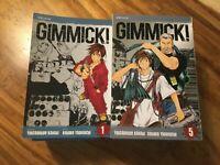 GIMMICK! VOL 1 2 3 4 5 6 7 8 9, AVG GRADE NM (9.2 - 9.4), 1ST PRINTS VIZ MEDIA