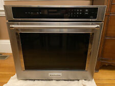 """KitchenAid Kost100Ess 30"""" Stainless Single Electric Wall Oven - For parts/repair"""