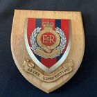 """A RARE ARMY MESS WALL PLAQUE/ SHIELD """"62 CRE (Construction)"""" Royal Engineers"""