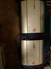 Pair Of Old School Ppi Pcx Amplifiers