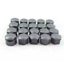 2pcs New Wheel Lug Nut Bolt Center Cover Gray Caps for Audi Skoda 22mm UK