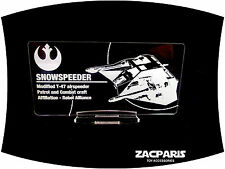 DISPLAY PLAQUE for Lego 10129 75144 Snowspeeder , Models, etc Clear Acrylic!