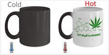 Color Changing Marijuana Smoker Weed Chemistry Molecular MAGIC Heat  Coffee Mug