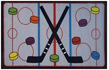 "LA Rugs Inc. FT-52 1929_On The Ice_Size19"" x 29"" Rugs"