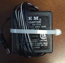 Oem Genuine Ac Adapter Aa-121A Power Supply 12v 1500mA !