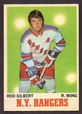 1970-71 OPC O PEE CHEE # 63 Rod Gilbert NEW YORK RANGERS