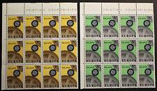 EUROPA Timbre ISLANDE / ISLAND Stamp - Yvert et Tellier n°364 et 365 x12 n**(Y3)