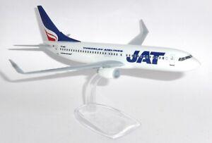 Boeing 737-800 JAT Airways Yugoslavia Snap Fit Collectors Model Scale 1:200 g