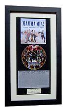 MAMA MIA Movie Soundtrack CLASSIC CD Album QUALITY FRAMED+FAST GLOBAL SHIP+ABBA