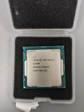 Intel Pentium Gold G5400 Coffee Lake Processor 3.70GHz 8.0GT/s 4MB LGA 1151 TRA