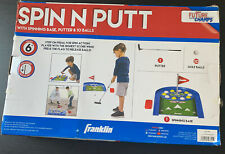 Franklin Sports Spin N Putt Golf Game