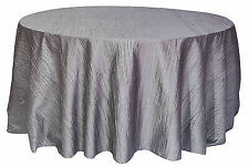 Silver Round Tablecloths For Sale   EBay