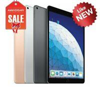 Apple iPad Air 3rd Generation Wi-Fi, 10.5in - 64GB 256GB - Gray Silver Gold