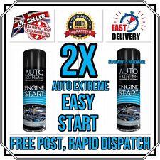 2 X Heavy Duty Engine Start Spray Car Van Truck Petrol Diesel Easy Start 300ml