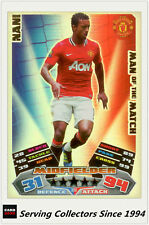 2011-12 Topps Match Attax Card Man Of Match Foil 390 Nani