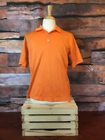 Mens Nike Golf Dri Fit Stay Cool Polo Shirt sz: Large Orange