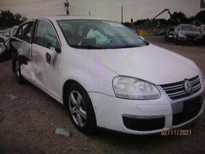 2009 Volkswagen Jetta Driver's Rear Exterior White Door Handle
