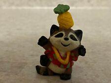Hallmark 1990 Merry Miniature Hawaiian Raccoon
