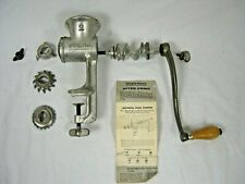 Universal #2 Meat Grinder/chopper with Manual and  3 Cutters